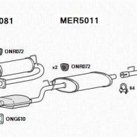 VW LT Exhaust