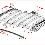 Sunroof & Ragtop Parts & Seals